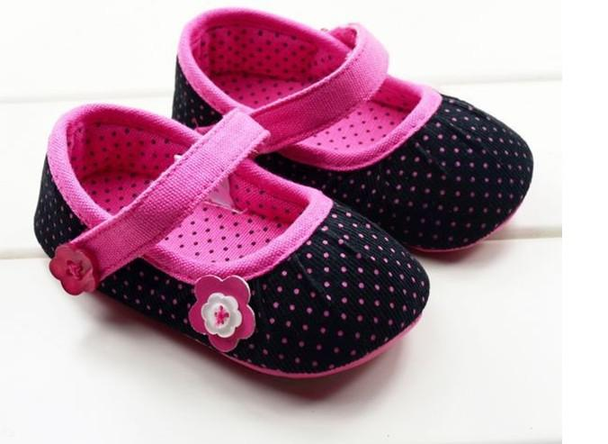 0-2 Years Old Low Rubber Baby Shoes. The Princess Toddler Shoes ...