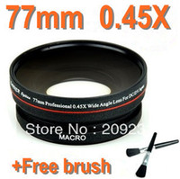 Wholesale HK Post mm X Professional Wide Angle Lens Macro Conversion Lens Free Brush