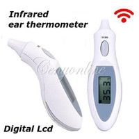 Wholesale Rapid Digital Infrared IR LCD Body Temperature Ear Thermometer Baby Kids Adult