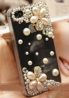 Wholesale 1 Set Pearl Flower Deco Kits for decorating android phone case Case not included