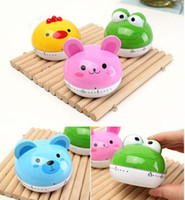 Wholesale Lovely Cartoon Animal Mini Kitchen Timer Reminder Alarm