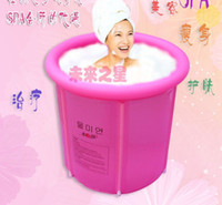 Wholesale Adult folding aerated bath bucket Bubble bath