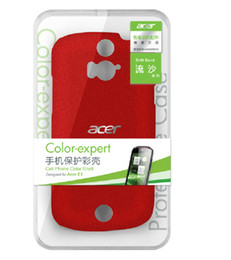 Wholesale charming polycarbonate mobile phone protection case for Acer Liquid E1 quicksand series three colors