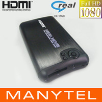 Wholesale 1080P Full Hd Media Player RMVB RM MKV AVI VOB Inch Sata Hdd With Usb Otg Player