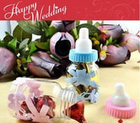Cheap Wedding favors Baby feeding bottle wedding candy box baby shower