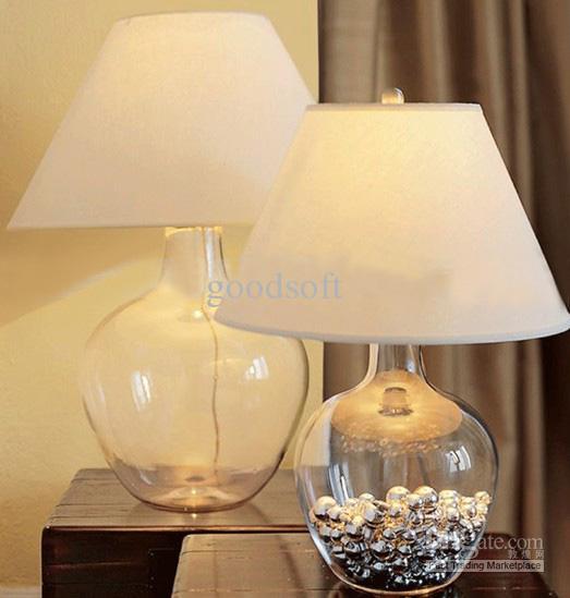 Online cheap modern european minimalist creative glass for Diy bedroom lamp