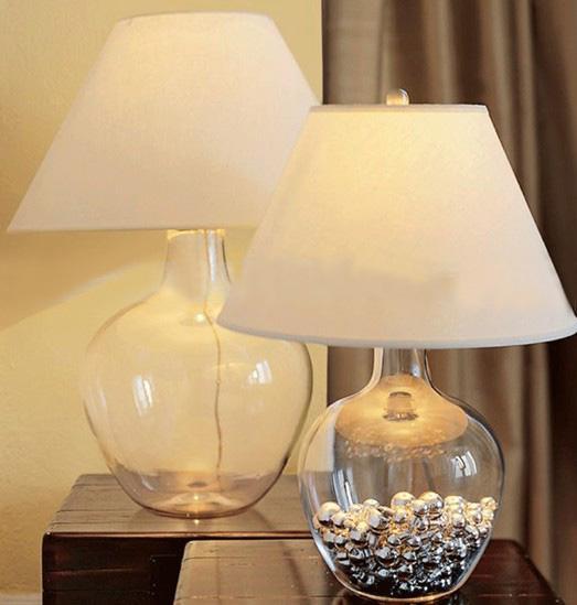 Modern Crystal Table Lamp Desk Light Bedside Side: 2017 Modern American Style Minimalist Creative Glass