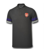 Wholesale new Arsenal T SHIRT soccer jersey grey brand t shirt jerseys cheap hot sell