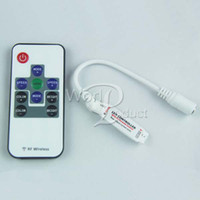 Wholesale RF Wireless RGB LED Mini Controller Remote Controller for Led Strip Lights
