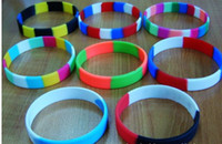 Men's african flag colors - DHL silicone bracelet thousands of colors can make Silicone wristbands