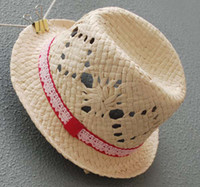 Girl Summer Visor Girls Summer Beige Straw Hat Beach Cap Baby Topee Wide Brim Hats Children Sunbonnet Fashion Sun Hat