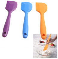 Wholesale Hot Selling Silicone Batter Spatula Scraper Cake Tool Kitchen Accessory Colors for Christmas