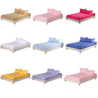 Wholesale 100 cotton satin fitted SHEET1 simmons protective case bed sets