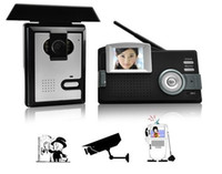 Wholesale Wireless Audio Visual Intercom Entry System with Inch Color Display Video door phone H617