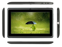 pad - 7 Inch A33 A23 Quad Core Tablets PC Android Capacitive Q88 Vayee Q8 pad Netbook Laptop Ebook Kids Tablet