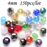 Wholesale DIA MM Cheaper AB Color Coating Abacus Beads Crystal Glass Beads Wheel Beads B22