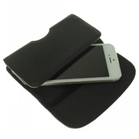 Wholesale Holster Leather Case for iphone Fancy black With Belt Clip fashion style case