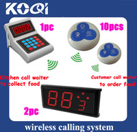 Wholesale Service Bell System for restaurant hotel can show how many call come in on LED board