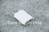 Wholesale V A EU USB Wall Charger AC Adapter for iPhone G GS G