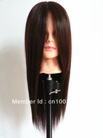 Wholesale Mannequin Training Head cosmetology mannequin heads hair display stand makeup mannequin head hair length
