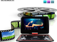 Wholesale 12 inch Handheld Home DVD Player with D Analog TV FM Radio USB Games CD