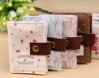 Wholesale canvas sweet color nice bank credit Card team holder bag case membership card bag