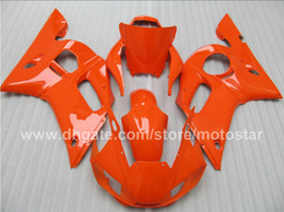 Fairing for YAMAHA R6 YZF-R6 98 99 00 01 02 YZF-R6 YZFR6 1998 1999 2000 2001 2002 All Orange 69M18