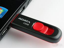 Usb chaud lecteur flash en Ligne-Hot ADATA C008 32GB USB 2.0 Flash Memory Pen Drives lecteur bâton Bâtons Pendrives Thumbdrive Disk X50