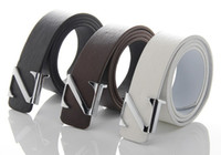 Wholesale 2013 hot sale Fashion Stylish Faux Leather Premium Z Shape Metal Buckle Belt good quality