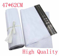 Wholesale 47 CM White Self seal Mailbag Plastic Envelope Courier Postal Mailing Bags