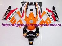 Before 2000 ABS bodywork Free shipp Fairings for Honda CBR600 F2 91 92 93 94 CBR 600 1991 1992 1993 1994 free windscreen