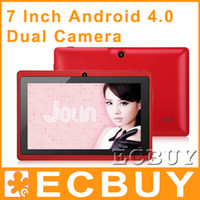Wholesale 4PCS Inch Google Android Tablet PC A13 MB GB Dual Camera
