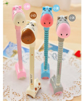 Wholesale Pen Lovely Cartoon Donkey Gel Pen Office School Writting Supplies Gel ink water base pe