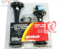 Wholesale VCHROME Air Horn for Harley Davidson Motorcycle Chopper Very Loud Truck Marine Boat