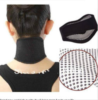 Wholesale New Tourmaline Self Heating Magnetic Therapy Neck Wrap Belt Neck Self Heat Brace Neck Support
