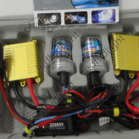 HID Conversion Kit 12v 35w Free shipping wholesale 100 set lots Hot sale AC 12v 35w 4300k-12000k car hid kits