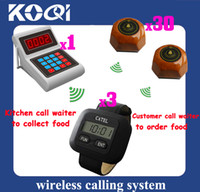 Wholesale Wireless Service Paging System Guest call waiter to order Kitchen call waiter to pick up food