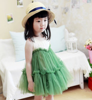 Girls Dresses Veil TuTu Vest Dress Summer Saler Children's C...