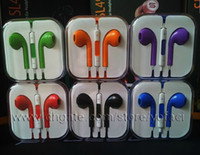 Wholesale Earphone for Apple iphone G Earbuds Headphone with MIC and Volume Control in Retail box