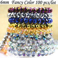 3mm-18mm angels synthetics - DIA MM High Quality Plating Color Crystal Glass Beads for Lampwork Garment B26