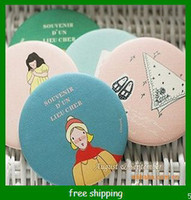 Wholesale cookies small mirror lovely small mirror make up mirror pocket mirror