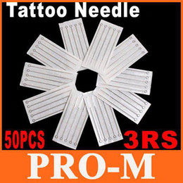 Wholesale 50 Disposable Round Shader Sterile Sterilized Tattoo Machine Needles RS Free Dropshipping