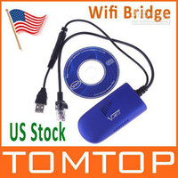 Wholesale VAP11G RJ45 Wireless WIFI Bridge IEEE B G Router IP Camera VoIP PSS Xbox with Retail Box