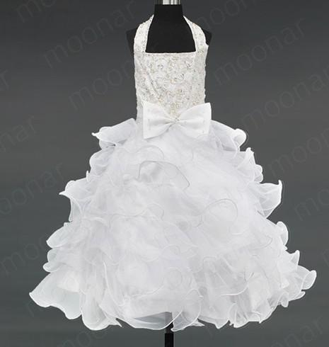 Size 5 white dress kid