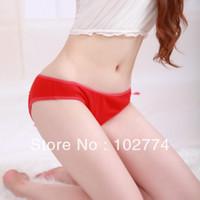 Cheap Woman sexy lingerie Best free size Open Crotch Pants Underwear
