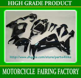 All black racing fairing body kit for Kawasaki ZX-10R 08 ZX10R 2009 ZX10R 08 09 ZX 10R fairings RX2b