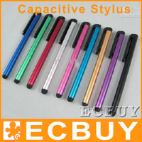 Wholesale 1500pcs Capacitive Stylus Touch Pen for ipad iphone itouch playbook tablet pc Free DHL