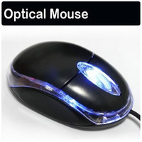 Wholesale Mini Optical Mouse Mini Optical Mice with Neutral sales package