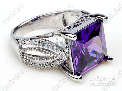 Fashion 925 Sterling Silver Wedding Ring Couple Rings with