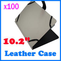 Wholesale 100pcs inch Leather case for inch Sanei Ampe Flytouch tablet pc size RW L11